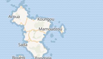 Mamoudzou - szczegółowa mapa Google