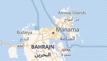 Manama - szczegółowa mapa Google