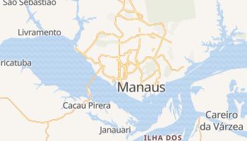 Manaus - szczegółowa mapa Google
