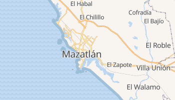 Mazatlán - szczegółowa mapa Google