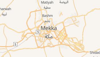 Mekka - szczegółowa mapa Google