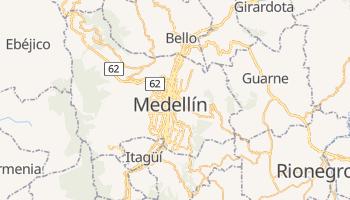 Medellín - szczegółowa mapa Google
