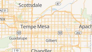Mesa - szczegółowa mapa Google