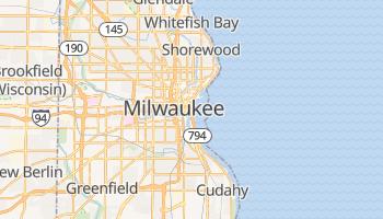 Milwaukee - szczegółowa mapa Google