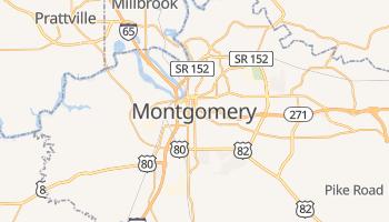 Montgomery - szczegółowa mapa Google