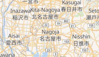 Nagoja - szczegółowa mapa Google
