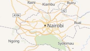 Nairobi - szczegółowa mapa Google