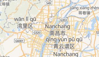 Nanchang - szczegółowa mapa Google