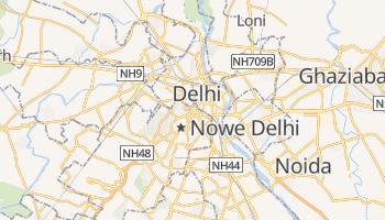 New Delhi - szczegółowa mapa Google