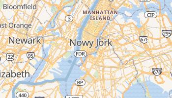 Nowy Jork - szczegółowa mapa Google