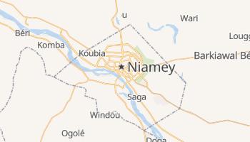Niamey - szczegółowa mapa Google