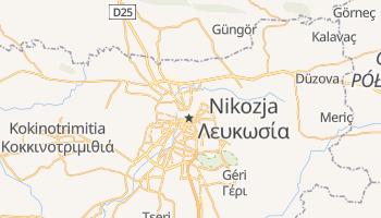 Nikozja - szczegółowa mapa Google