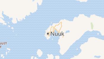 Nuuk - szczegółowa mapa Google