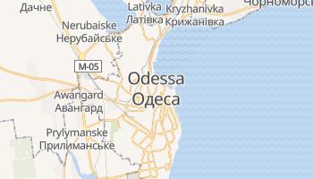 Odessa - szczegółowa mapa Google