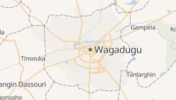 Wagadugu - szczegółowa mapa Google