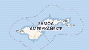 Pago Pago - szczegółowa mapa Google