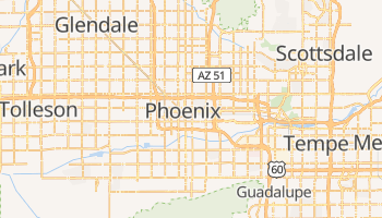 Phoenix - szczegółowa mapa Google