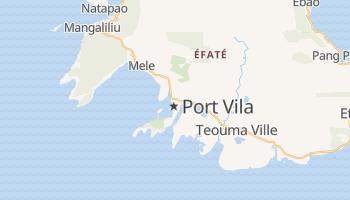 Port Vila - szczegółowa mapa Google