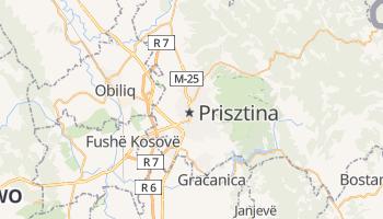 Prisztina - szczegółowa mapa Google