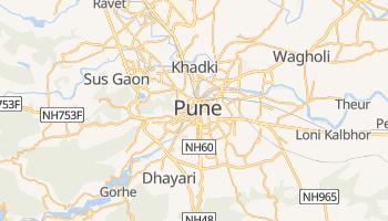 Pune - szczegółowa mapa Google