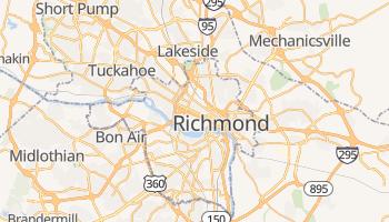 Richmond - szczegółowa mapa Google