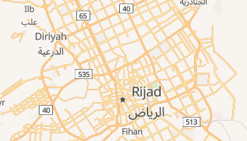 Rijad - szczegółowa mapa Google