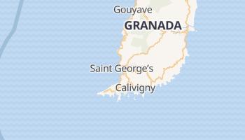 Saint George's - szczegółowa mapa Google