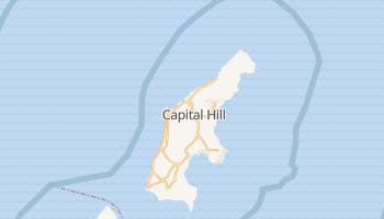 Saipan - szczegółowa mapa Google