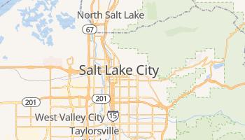 Salt Lake City - szczegółowa mapa Google