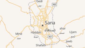 Sana - szczegółowa mapa Google