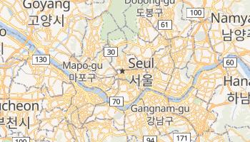 Seul - szczegółowa mapa Google