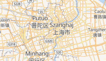 Szanghaj - szczegółowa mapa Google