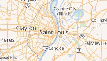 Saint Louis - szczegółowa mapa Google