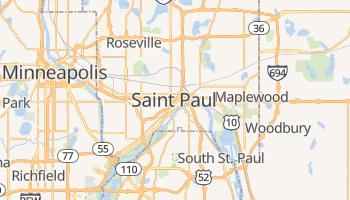 St. Paul - szczegółowa mapa Google