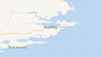 Stanley - szczegółowa mapa Google