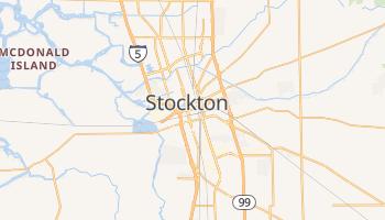 Stockton - szczegółowa mapa Google