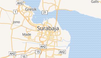 Surabaja - szczegółowa mapa Google
