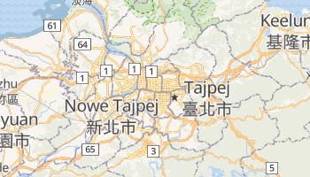 Tajpej - szczegółowa mapa Google