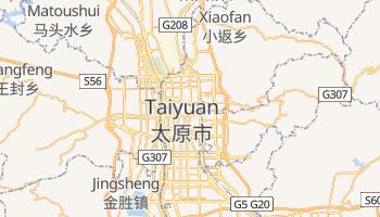 Taiyuan - szczegółowa mapa Google