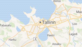 Tallinn - szczegółowa mapa Google