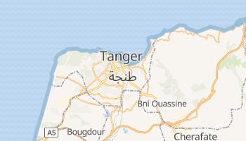 Tanger - szczegółowa mapa Google