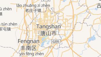 Tangshan - szczegółowa mapa Google