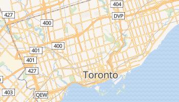 Toronto - szczegółowa mapa Google