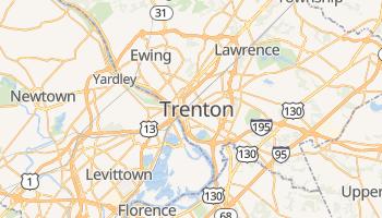 Trenton - szczegółowa mapa Google