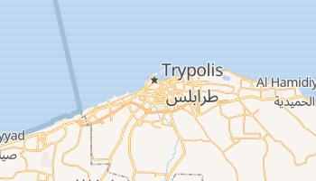 Trypolis - szczegółowa mapa Google