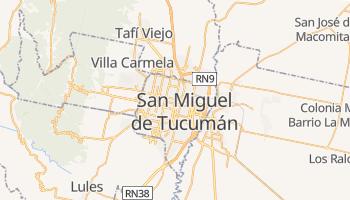 Tucumán - szczegółowa mapa Google