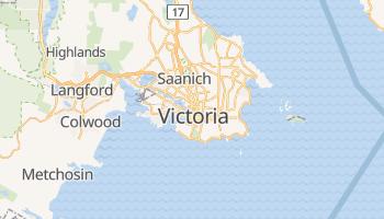 Victoria (Canada) - szczegółowa mapa Google