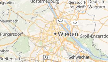 Wiedeń - szczegółowa mapa Google