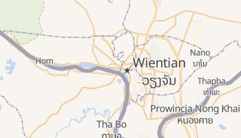 Wientian - szczegółowa mapa Google