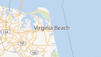 Virginia Beach - szczegółowa mapa Google